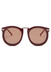 f8be17e6762 Karen Walker Karen Walker Eyewear Super Lunar round-eye acetate ...