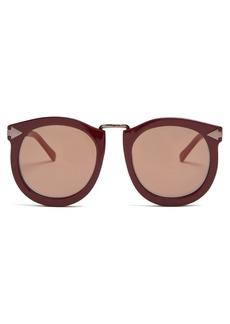 Karen Walker Eyewear Super Lunar round-eye acetate sunglasses