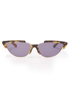 Karen Walker Eyewear Tropics Crazy Tort cat-eye sunglasses