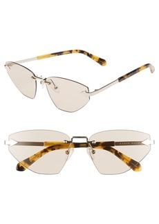 Karen Walker Heartache 60mm Cat Eye Sunglasses