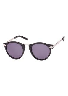 Karen Walker Helter Skelter Monochromatic Round Sunglasses