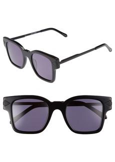 Karen Walker x Monumental Julius 49mm Square Sunglasses