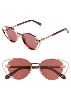 Karen Walker Kissy Kissy 51mm Cat Eye Sunglasses