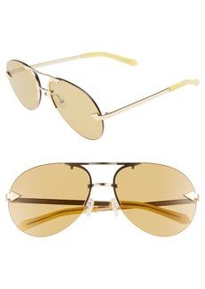 Karen Walker Love Hangover 60mm Aviator Sunglasses