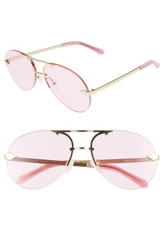 Karen Walker Love Hangover 60mm Aviator Sunglasses