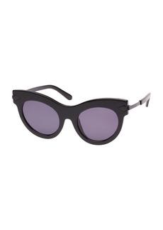 Karen Walker Miss Lark Cat-Eye Sunglasses