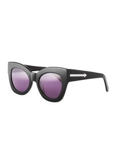 Karen Walker Northern Lights Cat-Eye Sunglasses