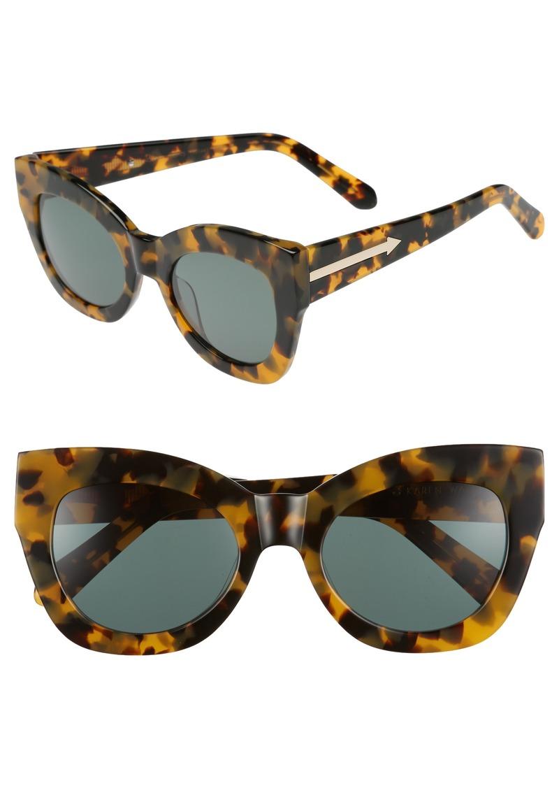 6595f30d445 Karen Walker Karen Walker Northern Lights V2 51mm Cat Eye Sunglasses ...