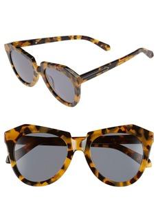 Karen Walker 'Number One' 50mm Sunglasses