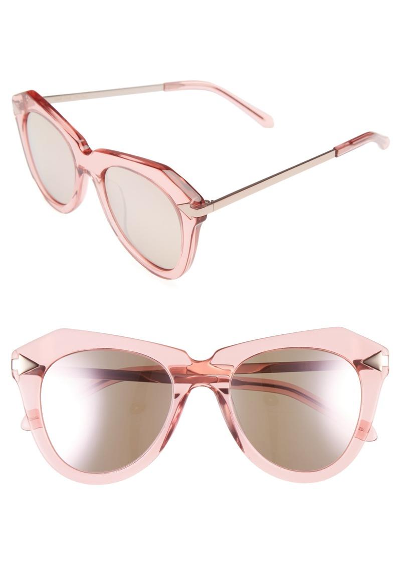17c75d1e611f Karen Walker Karen Walker One Star 50mm Retro Sunglasses