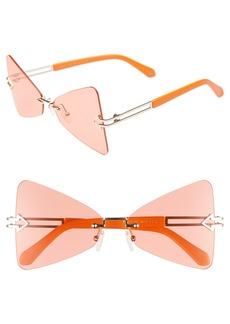 Karen Walker Paradise 57mm Sunglasses