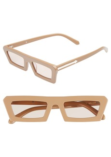 Karen Walker Shipwrecks 52mm Square Sunglasses