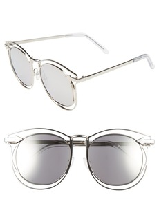 Karen Walker 'Simone' 54mm Retro Sunglasses