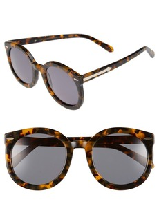 Karen Walker Super Duper Strength 55mm Sunglasses