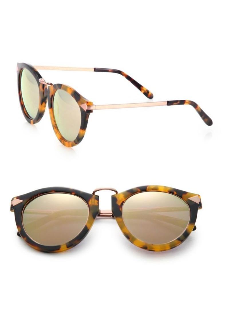 ad56339c0a Karen Walker Superstars Harvest Mirrored Round Sunglasses