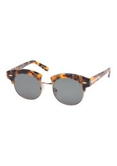 Karen Walker The Constable Round Half-Rim Sunglasses