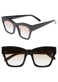 Karen Walker Treasure 52mm Cat Eye Sunglasses