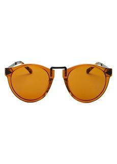 Karen Walker Unisex Round Sunglasses, 49mm