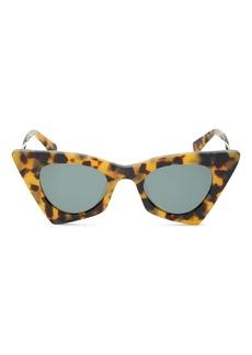 Karen Walker Women's Cat Eye Sunglasses, 46mm