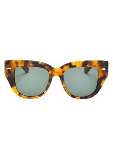 Karen Walker Women's Cat Eye Sunglasses, 51mm