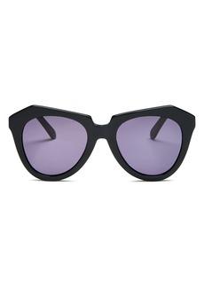 Karen Walker Women's Number One Round Sunglasses, 51mm