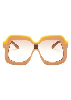 Karen Walker Women's Oversized Square Sunglasses, 65mm