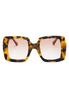 Karen Walker Women?s Square Sunglasses, 49mm