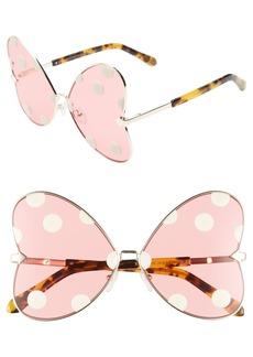 Karen Walker x Disney Minnie Mouse Bow Heart 63mm Sunglasses