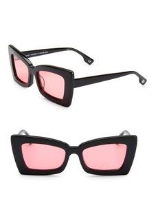 Karen Walker La Dolce Vita 53MM Zaap! Cateye Sunglasses