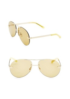 Karen Walker Love Hangover 63MM Mirrored Aviator Sunglasses