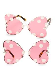 Karen Walker x Disney Minnie Bow 63MM Butterfly Sunglasses