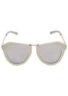 Karen Walker One Orbit Geometric Mirror Sunglasses