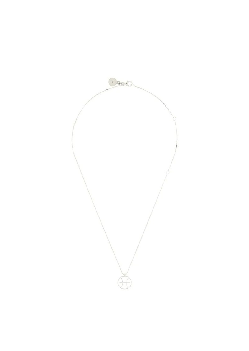 Karen Walker Pisces necklace