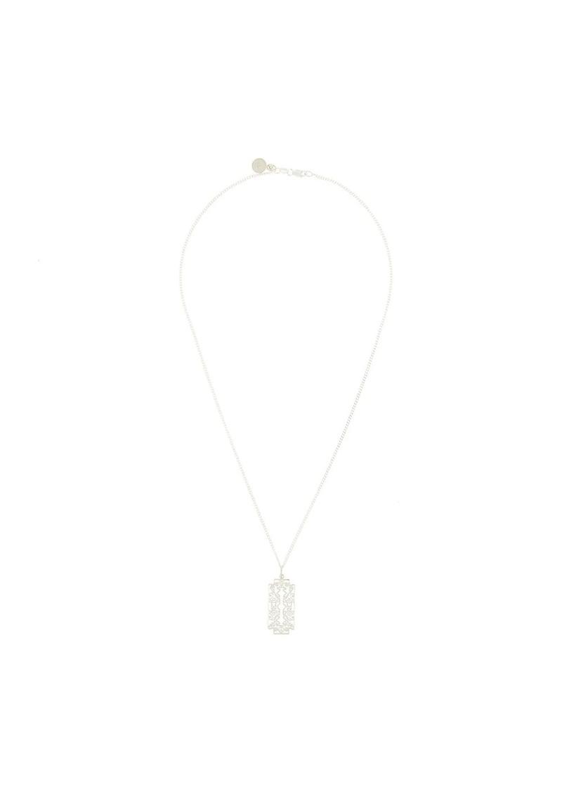Karen Walker Razor pendant necklace