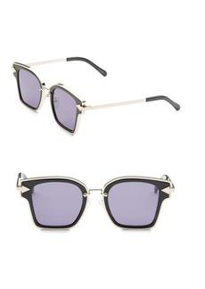 Karen Walker Rebellion 49MM Square Sunglasses