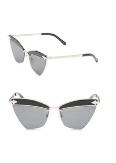 Karen Walker Sadie 59MM Cat Eye Sunglasses
