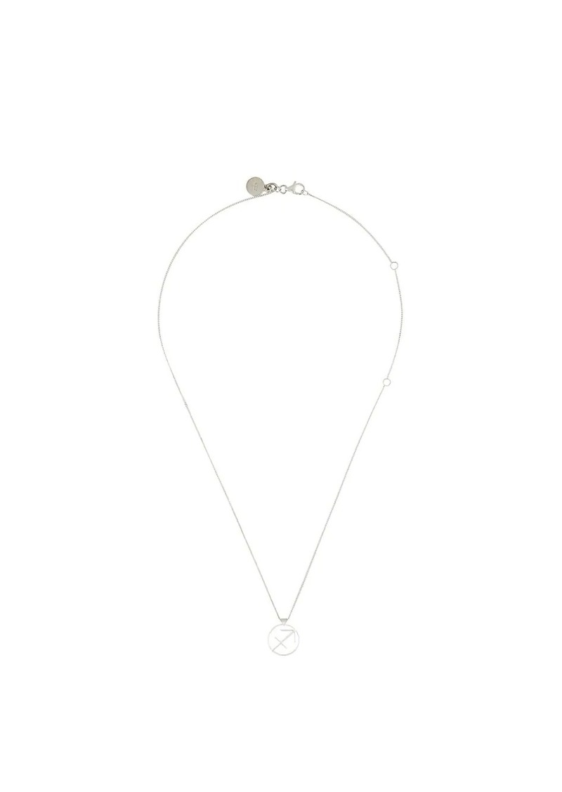 Karen Walker Sagittarius necklace