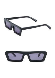 Karen Walker Shipwrecks 52MM Rectangle Sunglasses