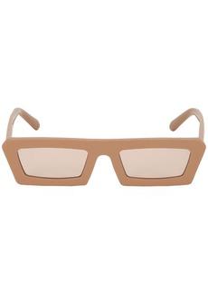 Karen Walker Shipwrecks Caramel Square Sunglasses