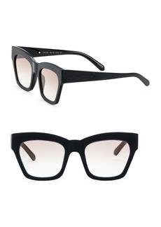 Karen Walker Treasure 52mm Square Sunglasses