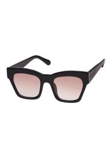 Karen Walker Treasure Gradient Rectangle Sunglasses