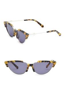 Karen Walker Tropics 58MM Cat Eye Sunglasses