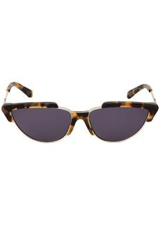 Karen Walker Tropics Crazy Tort Sunglasses