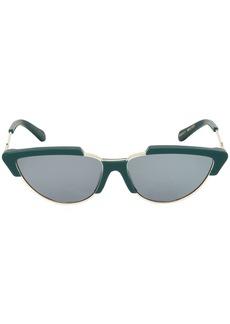 Karen Walker Tropics Emerald Sunglasses