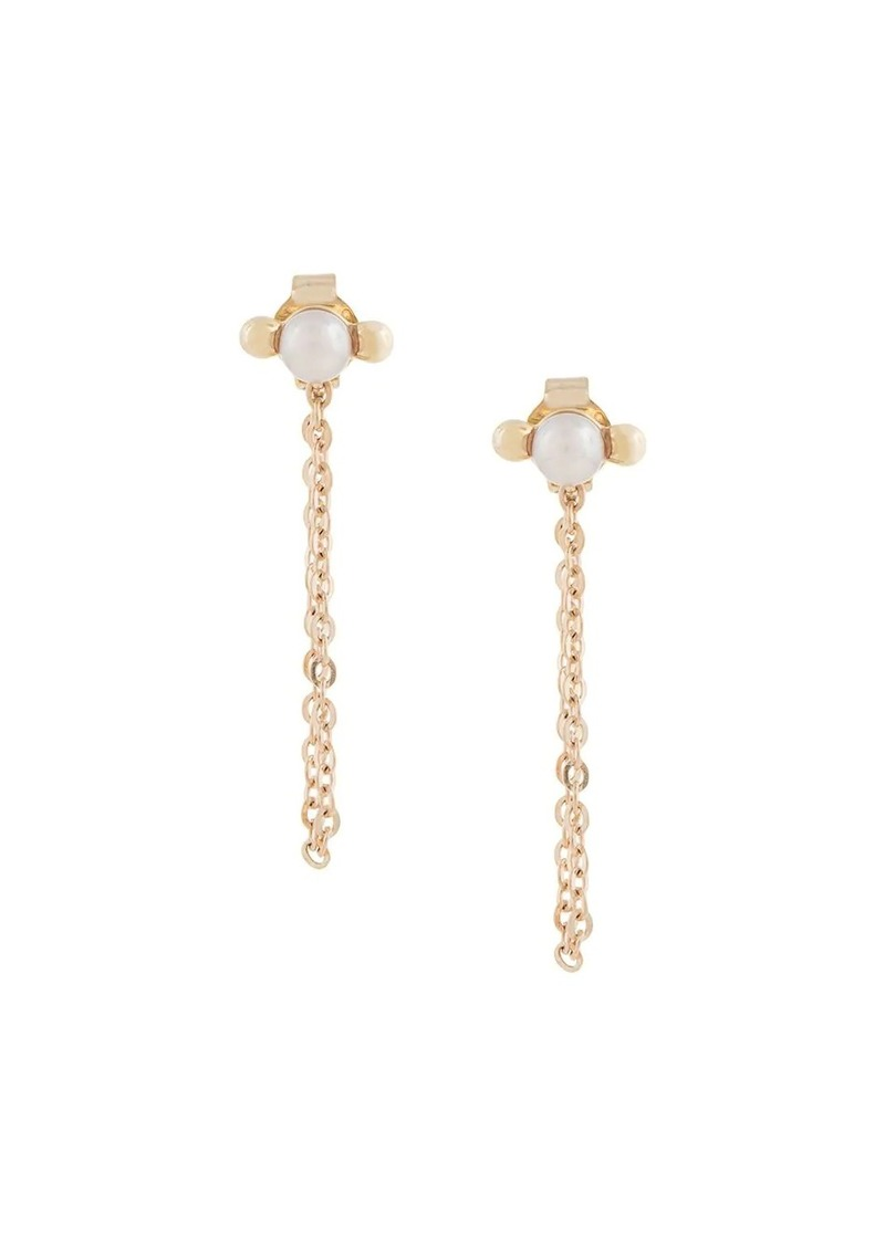 Karen Walker Vermeer Pearl earrings
