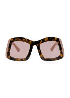 Karen Walker Wyndham 53MM Square Sunglasses