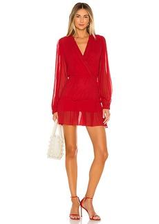 Karina Grimaldi Athena Solid Mini Dress