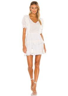 Karina Grimaldi Francis Embellished Mini Dress