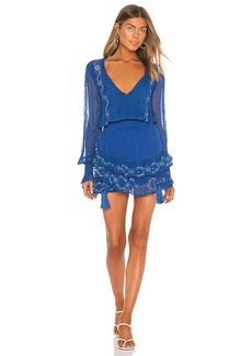 Karina Grimaldi Linda Embellished Mini Dress
