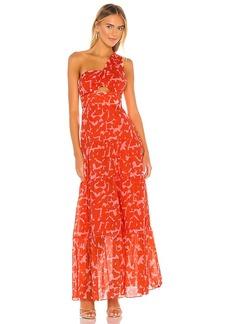 Karina Grimaldi Lola Print Dress